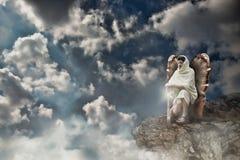 Anioła wojownik zdjęcie stock
