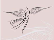aniołowie royalty ilustracja