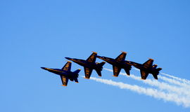 aniołowie błękitny Fotografia Royalty Free