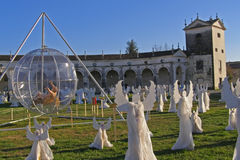 aniołowie choir Italy manin willę Obraz Royalty Free