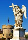 Aniołowie Rzym Obrazy Royalty Free