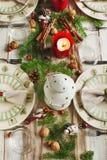 anioły jabłek jaj święta goździki składu cytryn dat igieł pięknych pomarańczy czekoladowych kawą prezenty sosnowe rodzynki stołow Zdjęcia Royalty Free
