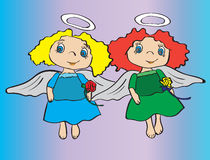 anioły trochę Zdjęcia Royalty Free