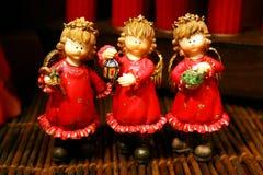 anioły trzy szczęśliwi Obrazy Stock