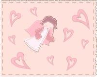 aniołów serca pikowali Ilustracji