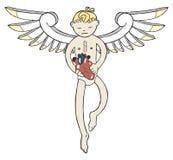 Anioła dawca Zdjęcie Royalty Free