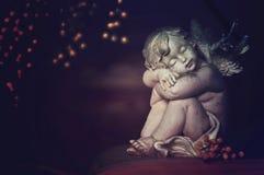 anioła dosypianie Fotografia Royalty Free