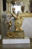 Aniołeczka zegar Zdjęcie Royalty Free