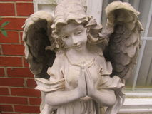 Anioł figurka obraz stock