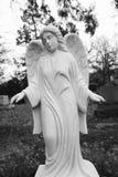Anioła Gravestone Fotografia Royalty Free
