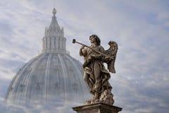 Anioł i religia Zdjęcia Royalty Free
