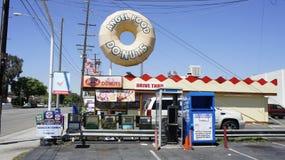 Anioła jedzenia DONUTS Zdjęcie Stock