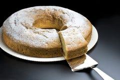 Anioła jedzenia tort Fotografia Stock