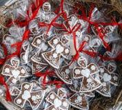 Anioła miodownika ciastka Zdjęcia Stock