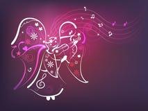 anioł muzyka Zdjęcia Stock