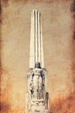Anioł na obelisku Obraz Royalty Free