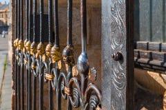 Anioł na St Bartholomew ` s katedrze, Plzen Obrazy Royalty Free