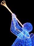 anioł neon Zdjęcia Stock
