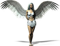 anioł nowoczesnego Fotografia Royalty Free