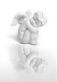anioła obsiadanie Obrazy Royalty Free
