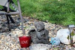 Anioła ogród Zdjęcia Stock