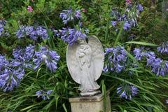 Anioła ogródu ornament Obrazy Royalty Free
