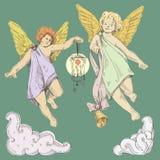 Aniołowie Obrazy Royalty Free