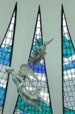 Aniołowie - Wielkomiejska katedra Brasilia Zdjęcie Stock