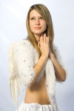 anioł portret Fotografia Royalty Free