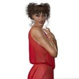 Anioł: portret kobieta Fotografia Royalty Free