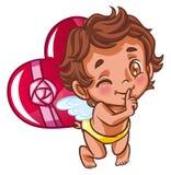 anioła prezenta serce Obraz Stock