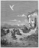 Anioła Raphael i rodzina Tobit