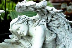Anioł statua Zdjęcia Stock