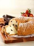 ANIOŁA tort Fotografia Stock