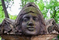 Anioł w starym cmentarzu Zdjęcie Royalty Free