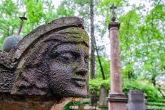 Anioł w starym cmentarzu Zdjęcie Stock