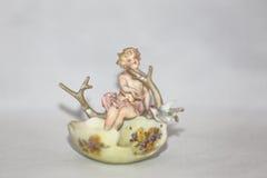 Anioł w Wielkanocnej jajecznej skorupie Zdjęcie Stock