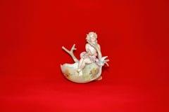 Anioł w Wielkanocnej jajecznej skorupie Zdjęcie Royalty Free