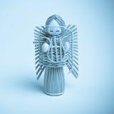 anioła wicker Zdjęcie Stock