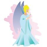 Anioł z ptakiem Zdjęcia Stock