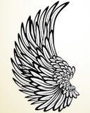 anioła skrzydło Obraz Stock