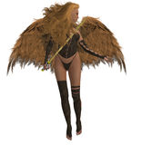 anioła łuku pomoc ofiara Fotografia Stock