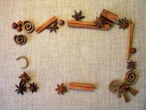 Anis and cinnamon Stock Photo
