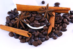 Anis, coffee and cinnamon Stock Images