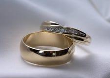 Anéis de casamento Imagem de Stock