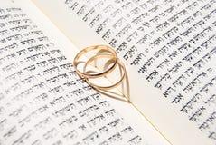 Anéis de casamento Foto de Stock Royalty Free
