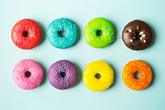 Anéis de espuma coloridos Fotografia de Stock Royalty Free