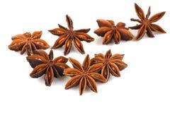 Anis de estrela chinês, anis de estrela, anis de estrela, Badiane, Badian, Badian Khatai, Bunga Lawang, Thakolam Fotografia de Stock