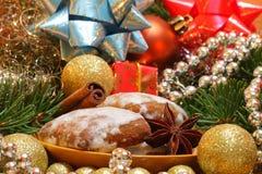 Anis de pain d'épice et d'étoile Images stock