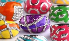 Anéis luxuosos Imagem de Stock